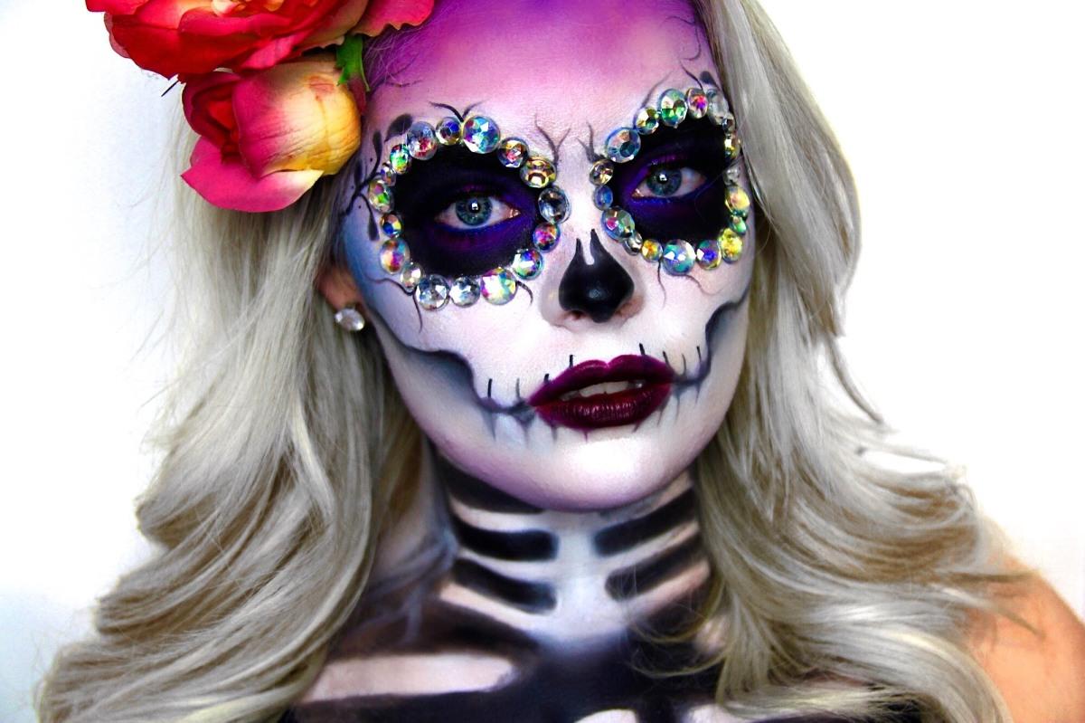 Spécial Halloween : La petite histoire derrière le maquillage «Dia de los muertos»