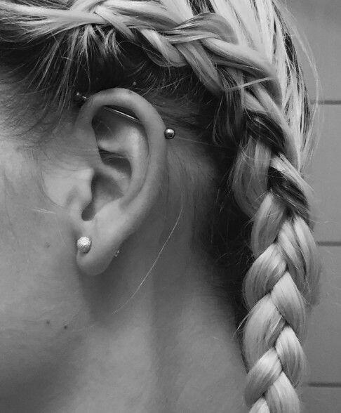Exceptionnel Une oreille, dix possibilités de piercing! – La Petite Simpliste OE14