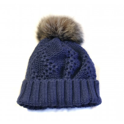 tuque_kako_blue_raccoon_chat_sauvage_fourrure_pompom_fur_ecoluxe_harricana.jpg